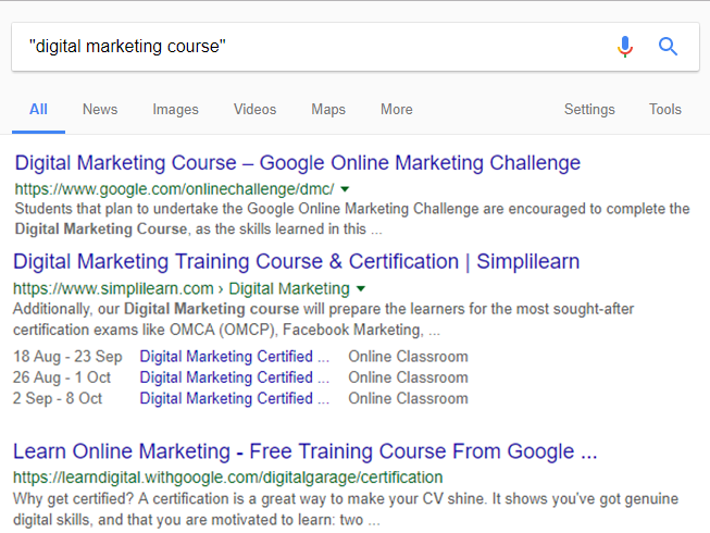 Google Search Operators - A Comprehensive List